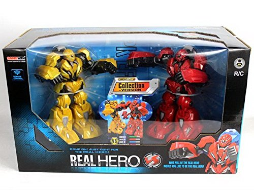 NBD Corp Real Hero- Infrared Fighting Robots A Fun Toy For Boys And Girls This Is A Very Exciting Toy For Kids This Really Rad Robot Is A Super Fun Boxing Robot And The Hero You've Been Looking For by NBD Corp (Image #2)