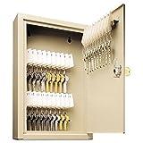 MMF Industries 30-Key Uni-Tag Single-Tag Compact Steel Key Cabinet (201903003)