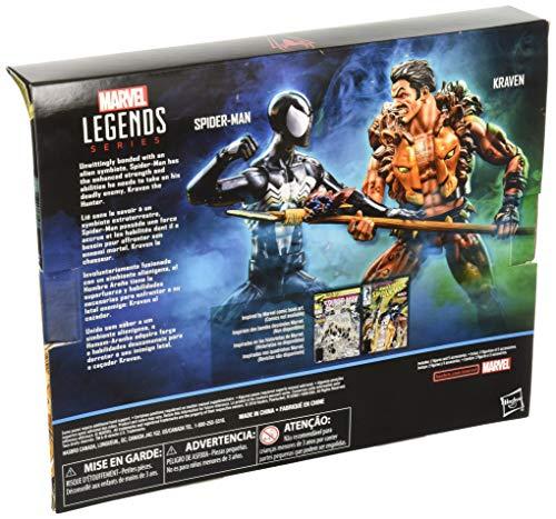Marvel Legends Spider-Man and Kraven Two Pack