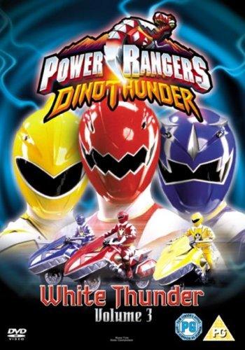 Power Rangers - Dino Thunder - White Thunder (Non US Format, PAL, Region 2)