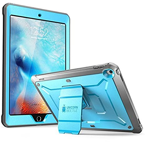 quality design d0d55 7ea04 SUPCASE [Unicorn Beetle Pro Series] Case Designed for iPad 9.7 2018 / 2017,  with Built-In Screen Protector & Dual Layer Full Body Rugged Protective ...