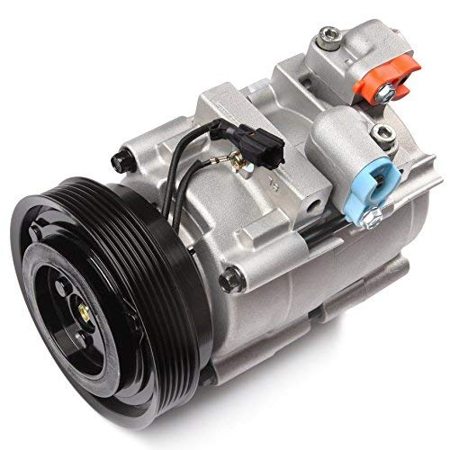 ECCPP A/C Compressor with Clutch fit for 2001-2006 Hyundai Santa Fe 2.7L CO 10957C Car Air AC Compressors Kit