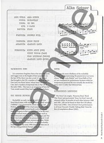 Rockschool: Band Based Keys - Grade 5. Partituras, CD para Teclado ...