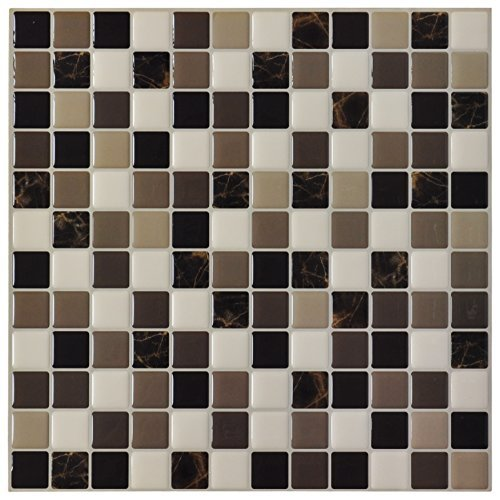 art3d backsplashes Tile para cocina o baño decoración, Peel N Stick Tiles