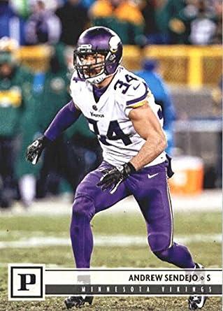 2018 Panini NFL Football  187 Andrew Sendejo Minnesota Vikings Official  Trading Card 143ca9e61