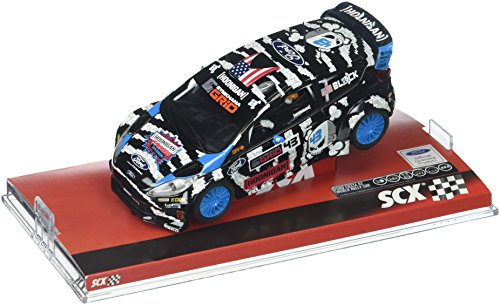 SCX Ford Fiesta Rs WRC Ken Block Vehicle Replica