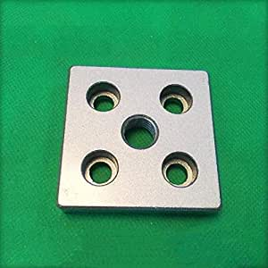 Extrusion Aluminum Profiles 6060-M16 Connecting Face Plate 30 series 2pcs