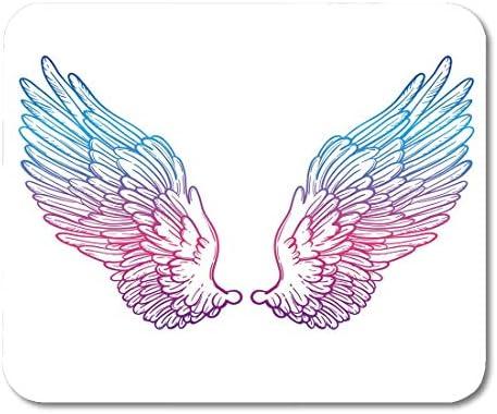 Almohadillas para mouse Línea de alas de ángel Boceto para ...