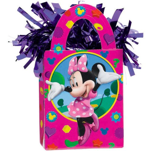 [Disney Minnie Mouse Mini Tote Balloon Weight - 5.5 In. x 3 In. Each [Toy] [Toy] by] (Mouse Costumes Ideas)
