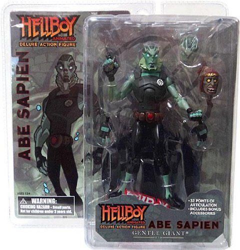 Gentle Giant Hellboy Animated Deluxe Action Figure (Figure Sapien Abe)