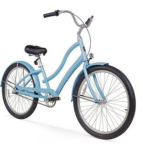 Firmstrong Women's CA-520 Alloy 3-Speed Beach Cruiser Bicycle Baby 青 15.5-Inch/Medium [並行輸入品]