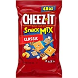 Cheez-It Baked Snack Mix, Classic, 48 oz Box(Pack of 2)