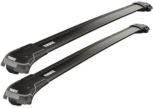 2 opinioni per Thule 958520 Coppia Barre Wingbar Edge Nere 9585B Railing M+L