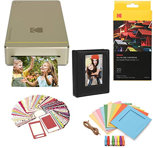Purchase KODAK Mini Portable Mobile Instant Photo Printer Wi-Fi & NFC Compatible - Prints 2.1 x 3.4 ...