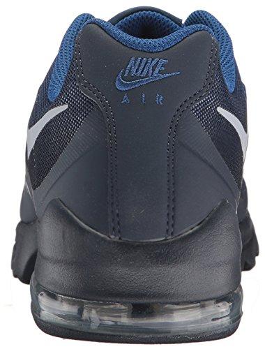 Nike Hommes Air Max Invigor Imprimé Chaussures De Course Gym Bleu / Loup Gris / Obsidienne