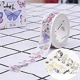 KathShop DIY Butterfly Masking Tape DIY Paper