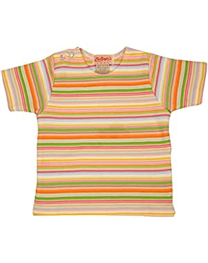 Giardino Multi Stripe Short Sleeve T-shirt