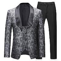 Boyland Mens 3 Pieces Tuxedos Vintage Gr...