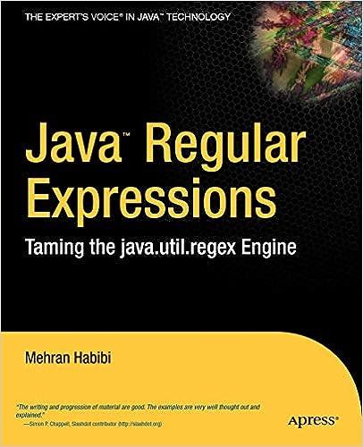 Java Regular Expressions: Taming the java util regex Engine
