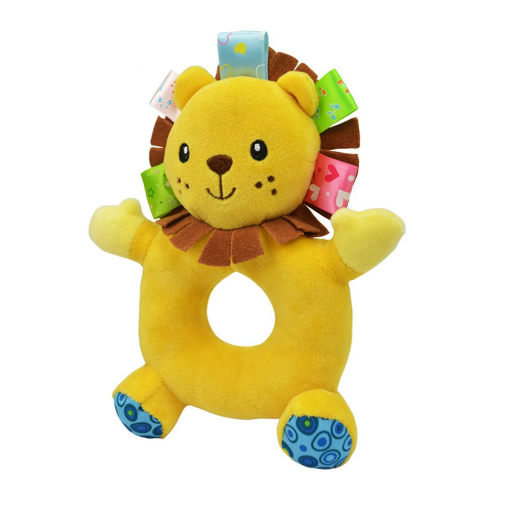 Ogquaton Premium Lindo Suave Ni/ños Beb/é Infantil Sonajeros Felpa Animales de Peluche Calmantes Juguetes de Campana Educativos Ciervos
