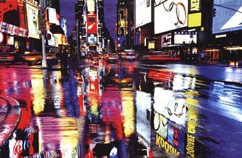 Times Square Colors - Poster