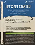 MindTap Business Law, 1 term (6 months) Printed Access Card for Cross/Miller's The Legal Environment of Business: Text and Cases, 10th