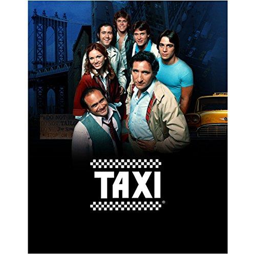Taxi Cast - Judd Hirsch 8 Inch x10 Inch Photograph Taxi (TV Series 1978 - 1983) w/Cast Title Poster kn