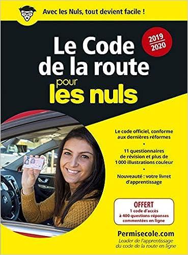 44dfcfed58 Amazon.fr - Le code de la route 2019-2020 pour les Nuls poche - PERMISECOLE. COM - Livres