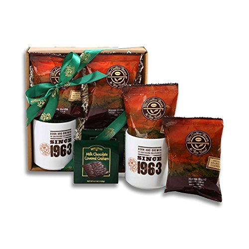 Coffee Lover's Dream Gourmet Coffee Gift Sampler (Dream Coffee Gift Basket)