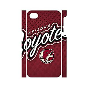 Charm Hipster Pop Hockey Team Logo Dustproof Phone Accessories for Iphone 4 4s Case