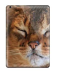 Awesome Design Happy Cat Hard Case Cover For Ipad Air 9860031K12074755