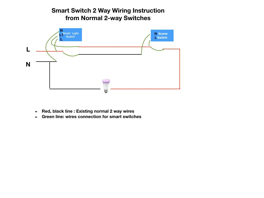 Image Showing Circuit Diagram Of A Two Way Lighting Circuit