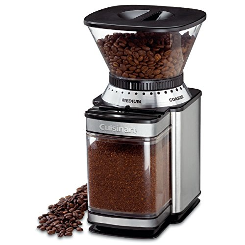 Cuisinart DBM-8 Supreme Grind Automatic Burr Mill (Best Coffee Grinder Under 500)