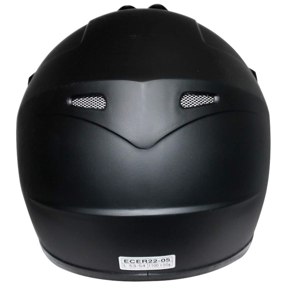 ATV Dirt Bike BMX Off Road Helmet Matt Red L 53-54cm Leopard LEO-X15 Kids Motocross Motorbike MX Helmet