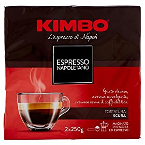 Kimbo - Caffè Espresso Napoletano - 2x250 g