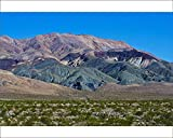 10x8 Print of Landscape Mountain Range, South Eureka Dunes Road Scenery (18241767)