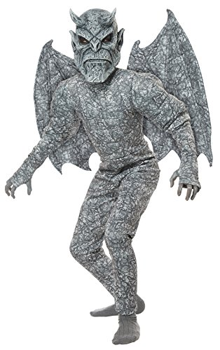 UHC Boy's Ghastly Gargoyle Outfit Horror Theme Child Halloween Fancy Costume, Child L (Gargoyle Costumes)