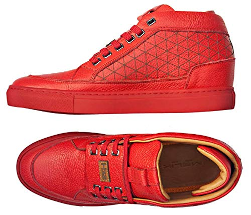 Melik EU Homme 43 772 Rouge Rouge Baskets Shoes 7206 12 zqzxF64