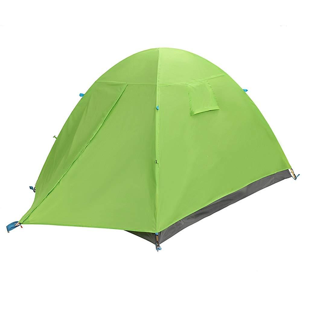【正規販売店】 屋外キャンプのビーチ旅行3人二重雨キャンプテント Green) Green、2色 (色 B07P5D9KG2 : Green) Green B07P5D9KG2, おつまみ屋 ぐいっとはっちゃん:bb6defa8 --- ciadaterra.com