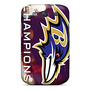 Hot Style OSIVoeB6406 Protective Case Cover For Galaxys3(baltimore Ravens)