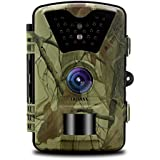 OOSSXX Day/Night Trail Camera , 12MP Full HD 1080P 90° PIR Sensor Wildlife Hunting & Game Camera ,940nm Upgrading invisible infrared LED Night Vision up to 65ft.2.4 inch LCD Screen, password protected