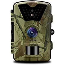 OOSSXX Day/Night Trail Camera, 12MP Full HD 1080P 90° PIR Sensor Wildlife Hunting & Game Camera,940nm Upgrading Invisible Infrared LED Night Vision up to 65ft.2.4 inch LCD Screen, Password Protected