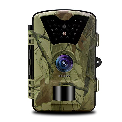 OOSSXX DayNight Trail Camera  12MP Full HD 1080P 90 PIR Sensor Wildlife Hunting & Game Camera 940nm Upgrading invisible infrared LED Night Vision up to 65ft.2.4 inch LCD Screen password protected