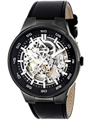 Kenneth Cole New York Mens KC8048 Automatic Analog Display Japanese Automatic Black Watch