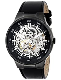 Kenneth Cole New York Men's KC8048 Automatic Analog Display Japanese Automatic Black Watch