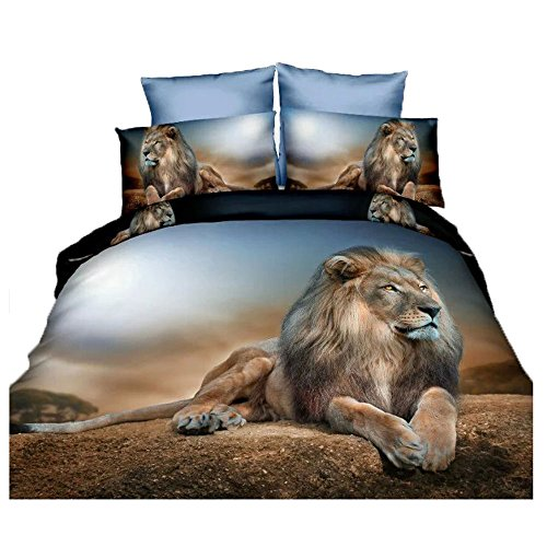 mighty lion bedding set