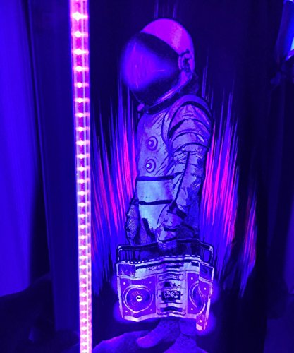 Black Light Hotel: LED UV Black Light Fixtures, Amlight T5 Integrated Tube