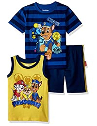 Nickelodeon Boys Paw Patrol 3 Piece Short Set