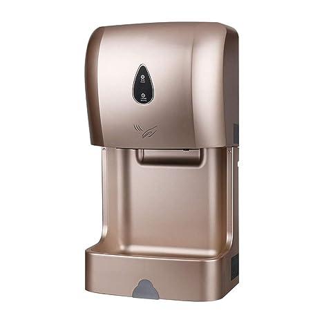 GCHOME Secadores de Mano Secador de Manos, secador Inteligente Completamente automático del Cuarto de baño