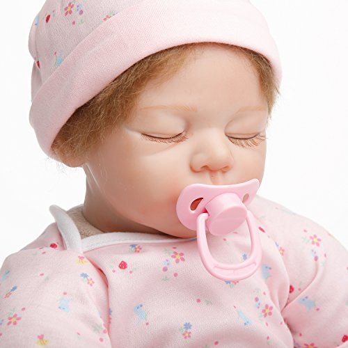 Amazon.com: SanyDoll Reborn Baby Doll Soft Silicone 22 inch 55 cm Magnetic Mouth Lovely Lifelike Cute Boy Girl Toy Close Eyes Baby: Toys & Games